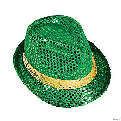 St. Patrick's Day Sequin Fedora