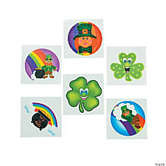 St. Patrick's Day Child's Tattoos