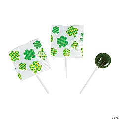 St. Patrick's Day Printed Suckers