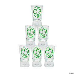 St. Patrick's Day Bottle-Top Shot Glasses