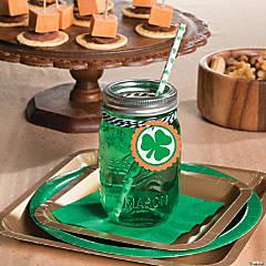 St. Patrick's Day Drinkware Idea