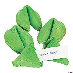 St. Patrick's Day Green Fortune Cookies