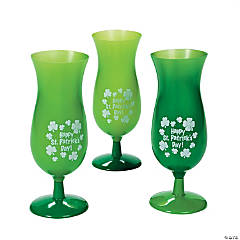 St. Patrick's Day Hurricane Glasses