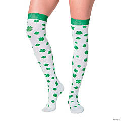 St. Patrick's Day Knee-High Socks
