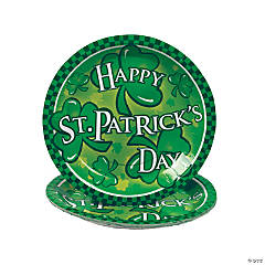St Patrick's Day Plates