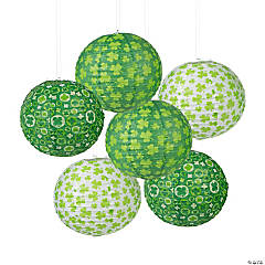 St. Patrick's Day Prints Hanging Paper Lanterns