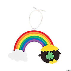 St. Patrick's Day Rainbow Ornament Craft Kit