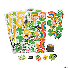 St. Patrick's Day Self-Adhesive Shapes