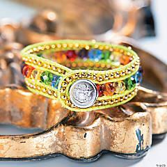 St Patrick's Day Wrap Bracelet Idea