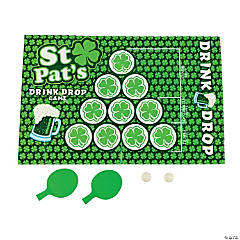 St. Patrick's Drink Drop Game