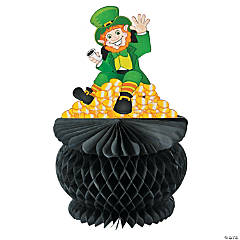 St. Pat's Pot of Gold Tissue Paper Centerpiece