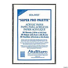 Sta-Wet Super Pro Palette Acrylic Paper Refill