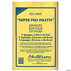 Sta-Wet Super Pro Palette Sponge Refill