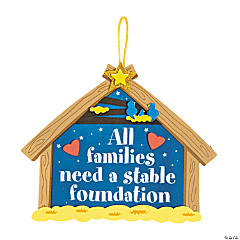 Stable Foundation Sign Craft Kit