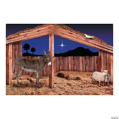 Stable Scene Backdrop Banner