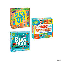 Stack Up!, Friends and Neighbors and Snug as A Bug In A Rug: Set of 3