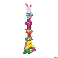 Stand-Up Easter Sign Craft Kit