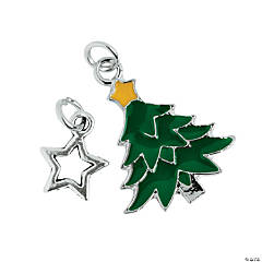 Star & Tree Charms - 12mm - 24mm