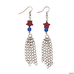 Star Dangle Earrings Craft Kit