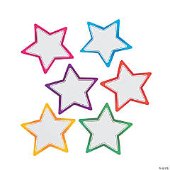 Star Dry Erase Magnets