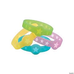 Star Glow-in-the-Dark Cutout Bracelets