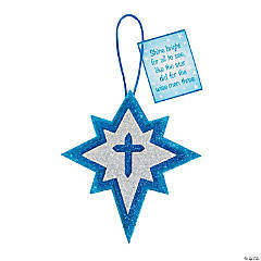 Star of Bethlehem Ornament Craft Kit