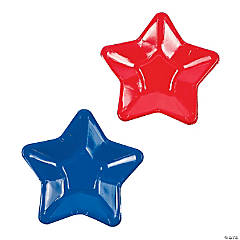 Star-Shaped Paper Dessert Plates