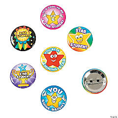 Star Student Mini Buttons