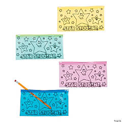 """Star Student"" Pencil Cases"