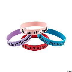 Star Student Rubber Bracelets