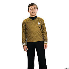 Star Trek Uniform Deluxe Gold Costume for Boys