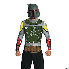 Star Wars™ Boba Fett Cape & Mask Costume For Men