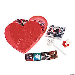 Star Wars™ Character Embossed Heart