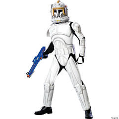 Star Wars Clone Trooper Cody Deluxe Adult Men's Costume