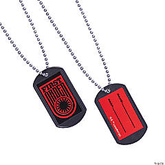 Star Wars™ Episode VII: The Force Awakens Dog Tags with Sticker