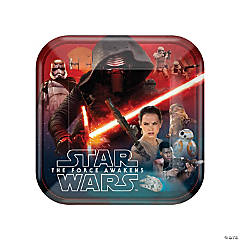 Star Wars™ Episode VII: The Force Awakens Paper Dinner Plates