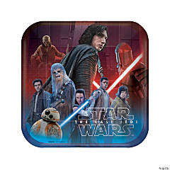 Star Wars™ Episode VIII: The Last Jedi Dinner Paper Plates