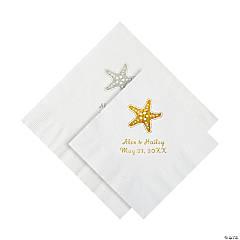 Starfish Personalized Napkins