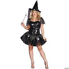 Starry Night Witch Costume For Women
