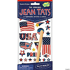 Stars & Stripes Jean Tats Pack