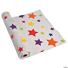 Stars Plastic Tablecloth Roll