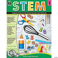 STEM: Engaging Hands-On Challenges Using Everyday Materials, Grade 1