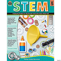 STEM: Engaging Hands-On Challenges Using Everyday Materials, Grade 5