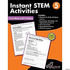 STEM Instant Activities Workbook, Grade 5