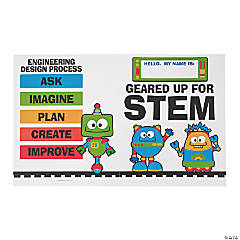 STEM Robots & Gears Student Pocket Folders