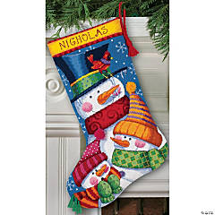 Stocking Needlepoint Kit-Freezin' Season