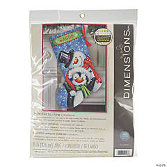 Stocking Needlepoint Kit -Polar Pals