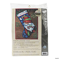 Stocking Needlepoint Kit Sweet Santa