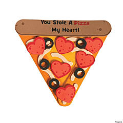 Stole a Pizza My Heart Magnet Craft Kit
