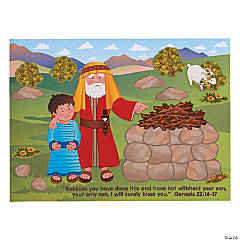 Stories of Abraham Mini Sticker Scenes